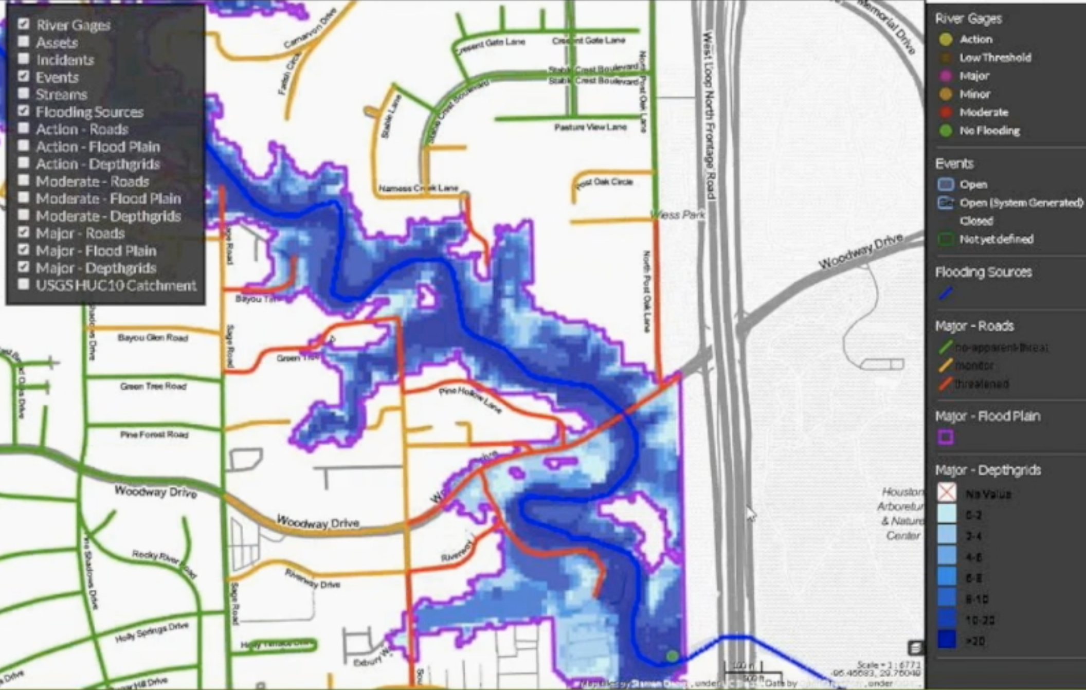 Floodcast Demo Screenshot