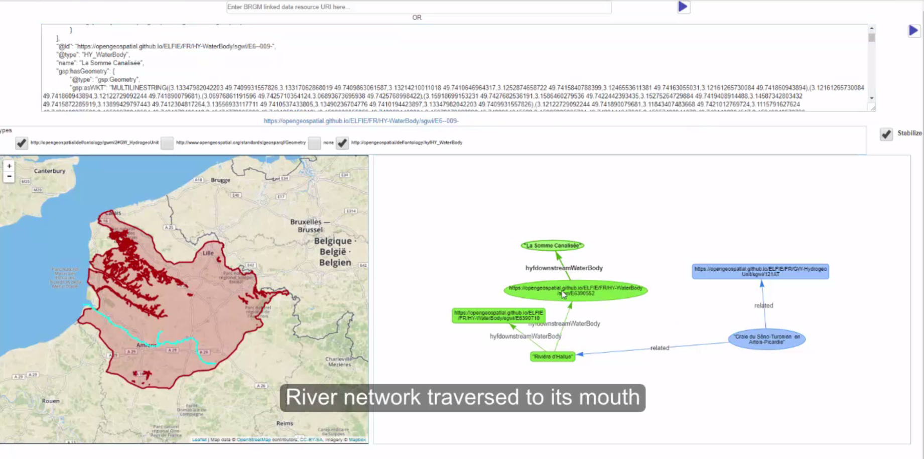 Screenshot2 of Surface-ground water networks interaction Demo