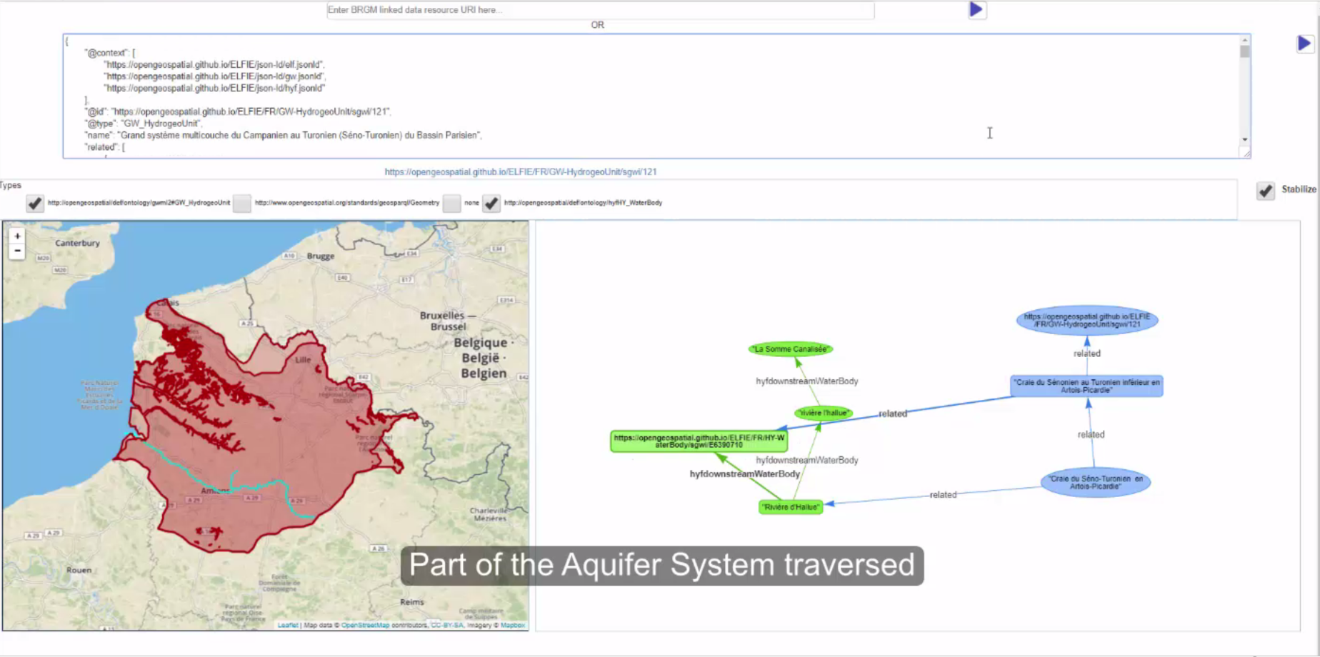 Screenshot3 of Surface-ground water networks interaction Demo